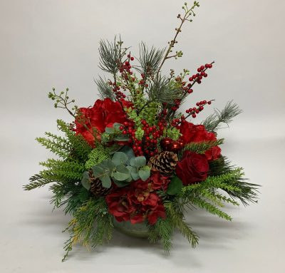 Red Holiday Floral