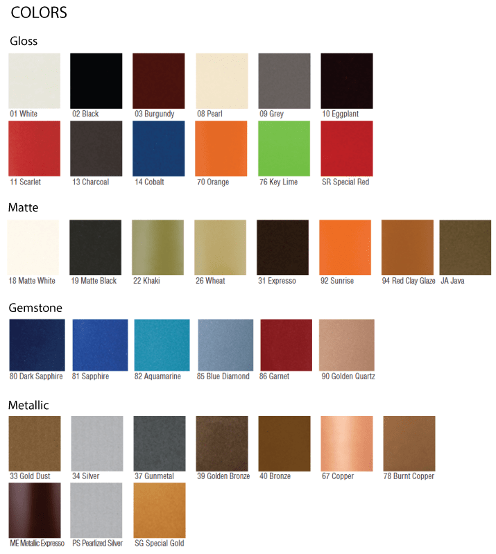 Recycled-Sustainable-LEED-colors