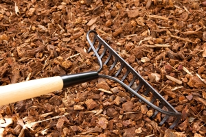 organic mulch for landscapes