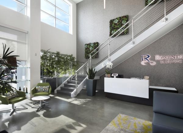 Replica moss wall designed by Courtney Farrow